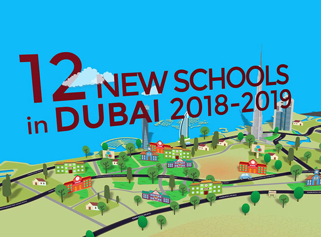 Dubai's new schools in September 2018